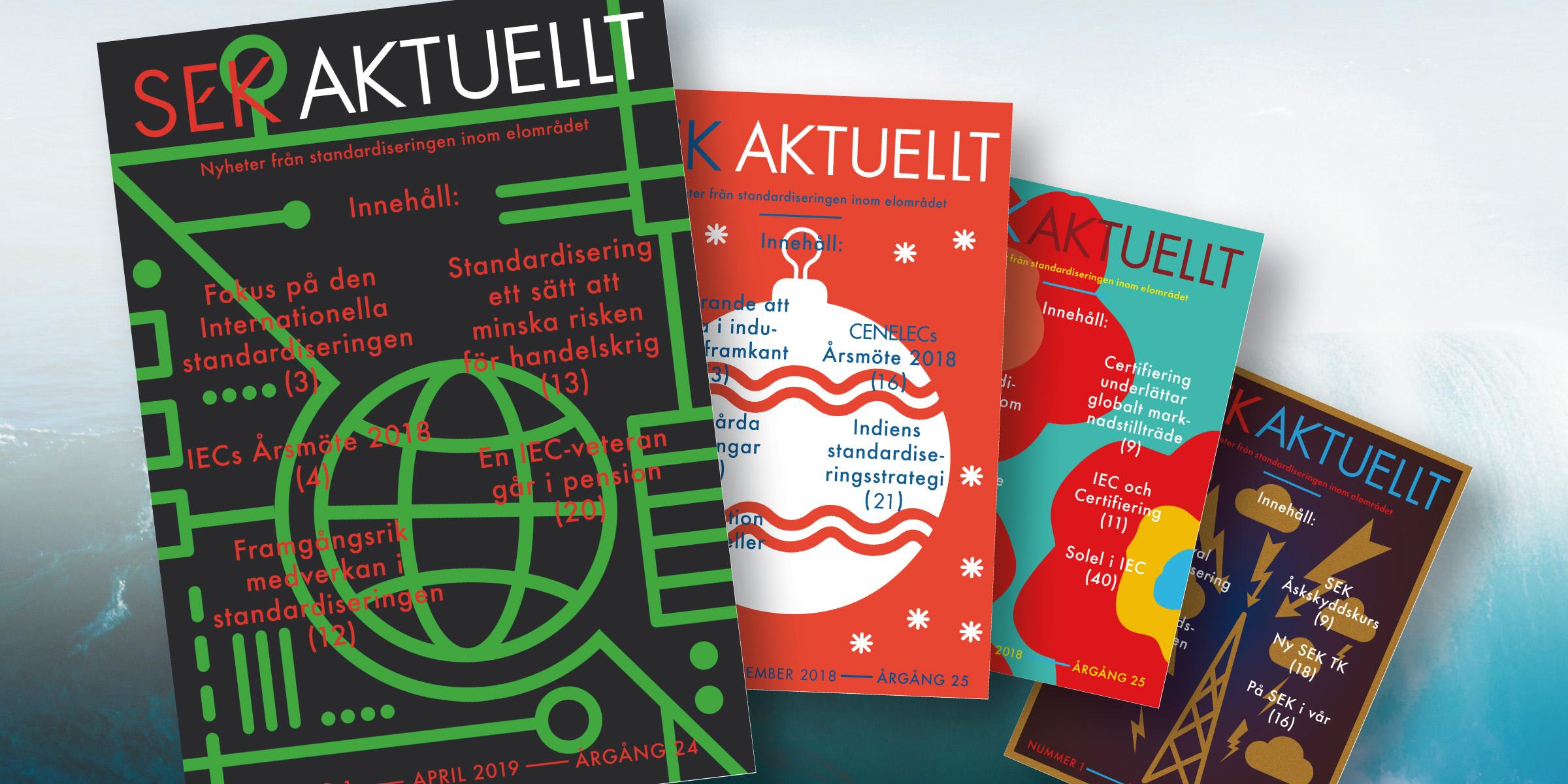 SEK Aktuellt, SEK Svensk Elstandards tidning