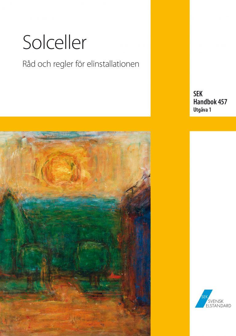 SEK Handbok 457 - Solceller - Råd och regler för elinstallationen