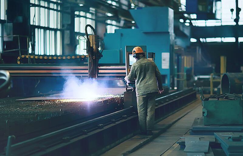 steel factory, stålindustri